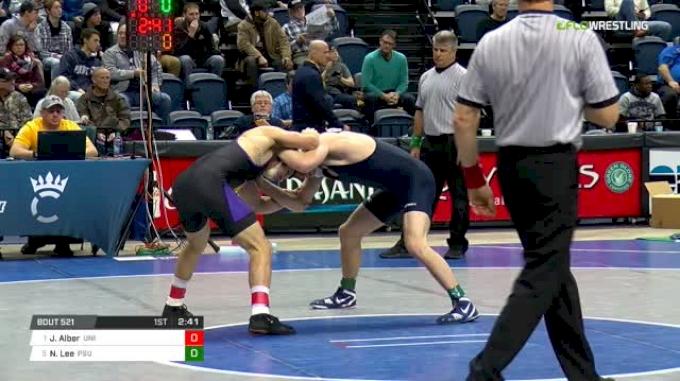 141 lbs Semifinal - Josh Alber, Northern Iowa vs Nick Lee, Penn State