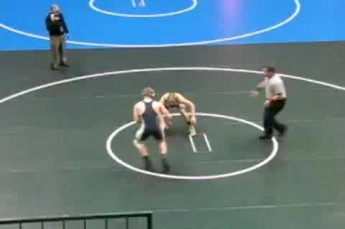 165lbs NCWA National Finals: Jake Schalles (Navy Prep) vs. Eric Gobin (Army Prep)