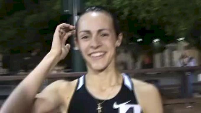 Jenny Barringer Colorado 5k collegiate record 2009 Payton Jordan