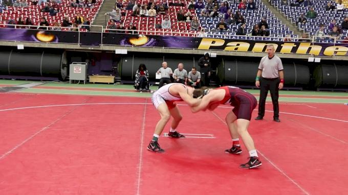197 lbs, Semifinal, Jake Woodley, Oklahoma vs Jacob Warner, Iowa