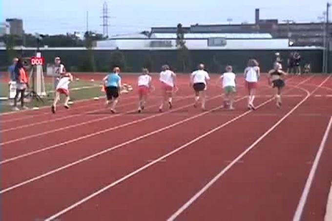 girls junior high mile