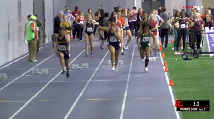 Women's 200m, Heat 3