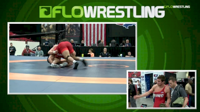 92kg Finals: Jacob Warner, University of Iowa vs John Borst, SERTC-VT
