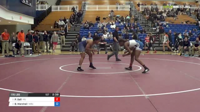 170 lbs Semifinal - Precious Bell, Menlo College vs Brittany Marshall, Wayland Baptist University W