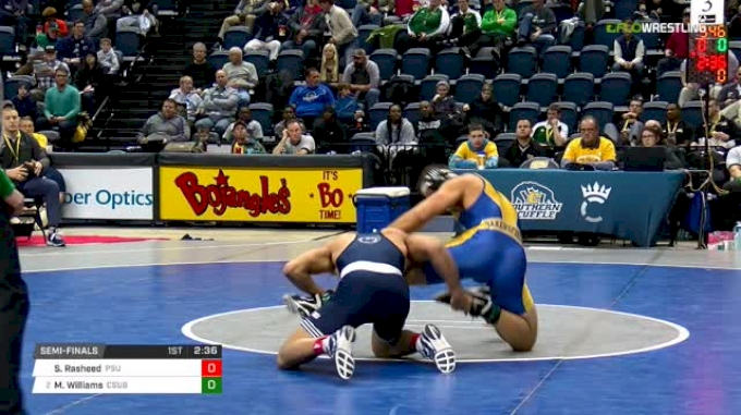 197 lbs Semifinal - Shakur Rasheed, Penn State vs Matt Williams, CSU-Bake