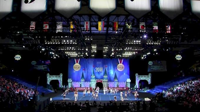 McCracken County High School [2018 Medium Varsity Coed Finals] UCA National High School Cheerleading Championship