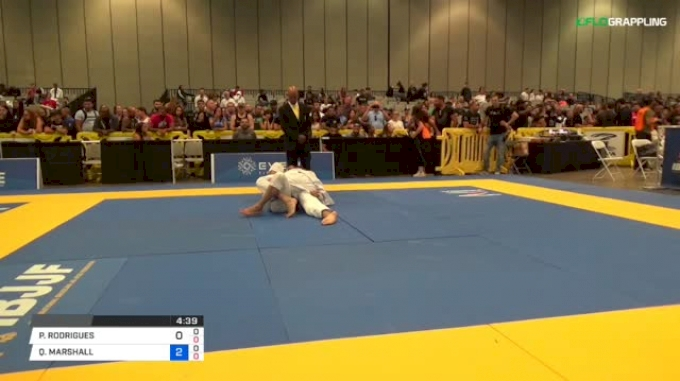 PETERSON RODRIGUES vs QUINTON MARSHALL 2018 World Master IBJJF Jiu