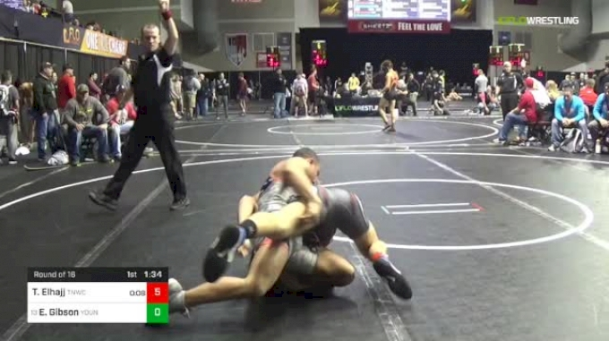 138 lbs Round Of 16 - Troy-Thomas Elhajj, Team Nauman Wrestling Club vs Erik Gibson, Young Guns Wrestling Club