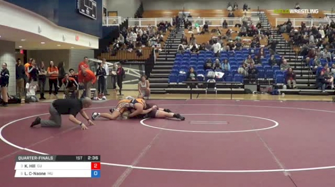 191 lbs Quarterfinal - Kaitlyn Hill, Campbellsville University W vs Leilani Camargo-Naone, Midland University