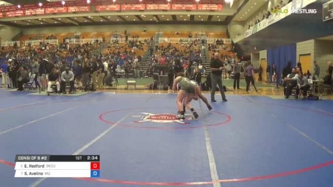 130 lbs Consi of 8 #2 - Erin Redford, Oklahoma City University vs Shelly Avelino, Menlo College
