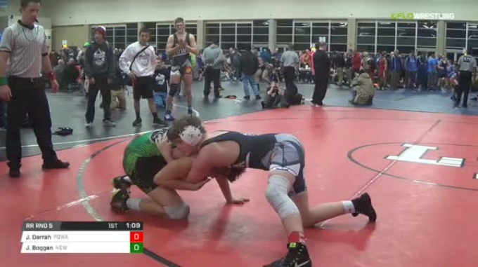 175 lbs Rr rnd 5 - Jack Darrah, Powa Ms vs Joshua Boggan, New Generation Wrestling Academy MS
