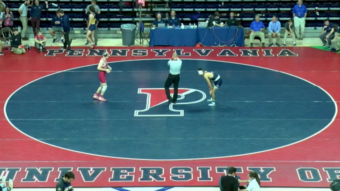 141 f, Jered Cortez, PSU vs Tyson Dippery, Rider