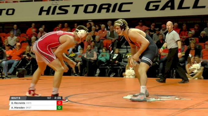 197 lbs Dylan Reynolds, Edinboro vs Andrew Marsden, Oklahoma State