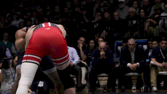 174 m, Bo Jordan, OSU vs Mark Hall, PSU
