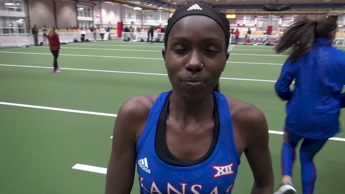 Sharon Lokedi After Big PR At Iowa State Classic