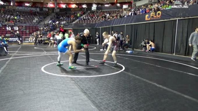 132 lbs Round Of 64 - Bryce Brennan, Team Nauman Wrestling Club vs Rafael Lievano, Ascend Wrestling
