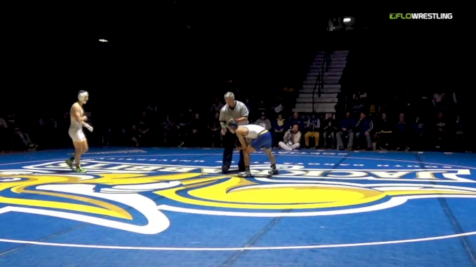 125 m, Connor Brown, SDSU vs Drake Foster, Wyoming