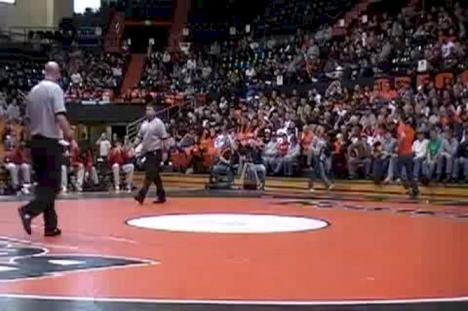 141 #13 Michael Mangrum OS VS Cole Schmitt Wisconsin