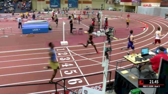 Men's 200m, Heat 5