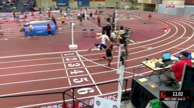 Men's 200m, Heat 13