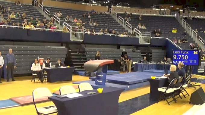 Polina Shchennikova- Vault (9.775), Michigan- 2017 Michigan vs. EMU Intersquad