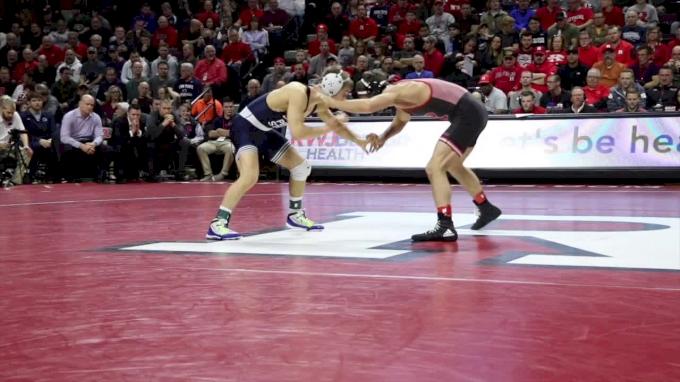 125 m, Nick Suriano, Rutgers vs Devin Schnupp, PSU