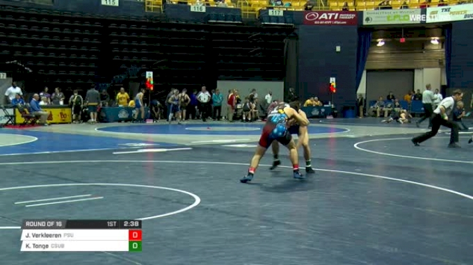 149 lbs Round of 16 - Jarod Verkleeren, Penn State vs Kalani Tonge, CSU-Bake