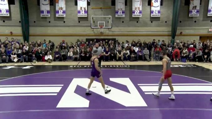 141 lbs, Mike Van Brill, Rutgers vs. Alec McKenna, Northwestern