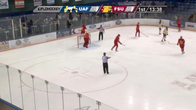 Highlights: Alaska Completes Sweep vs Ferris State 6-2
