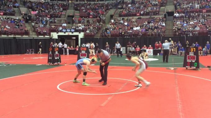 132 r1, Dylan D'Emilio, Genoa vs Elliott Dean, Bridgeport