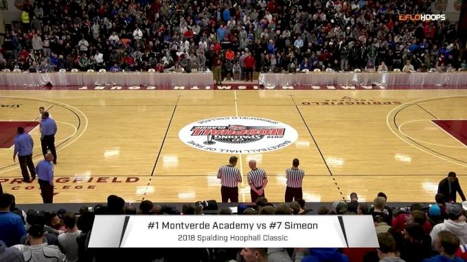 Montverde Academy (FL) vs. Simeon (IL) | 1.13.18 | 2018 Spalding Hoophall Classic