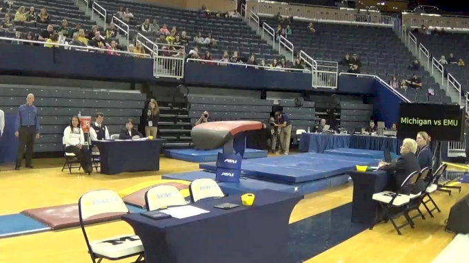Lexi Funk- Vault (9.725), Michigan- 2017 Michigan vs. EMU Intersquad