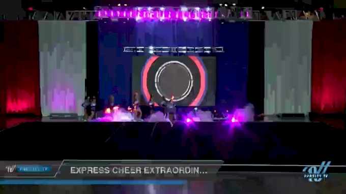 Express Cheer Extraordinary [2018 Junior 3 Day 1] 2018 NCA North Texas Classic
