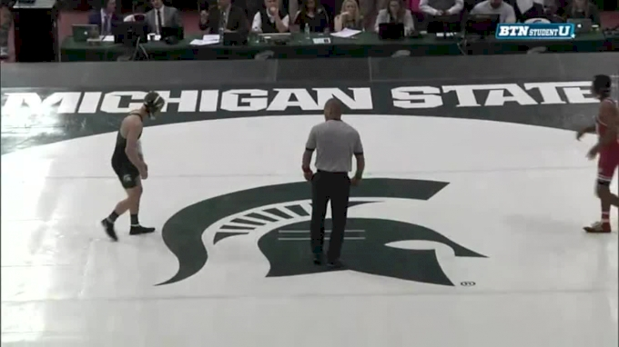 133 m, Jason Renteria, Nebrask vs Logan Griffin, MSU