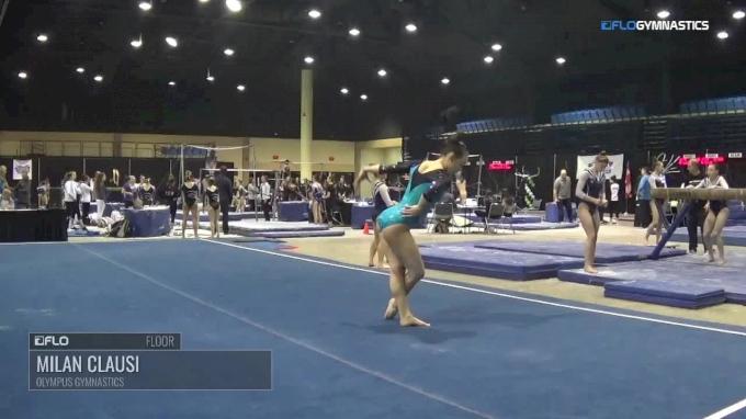 Milan Clausi - Floor, Olympus Gymnastics - 2018 Tampa Bay Turner's Invite
