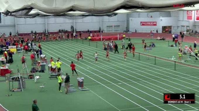 Women's 60m, Heat 1