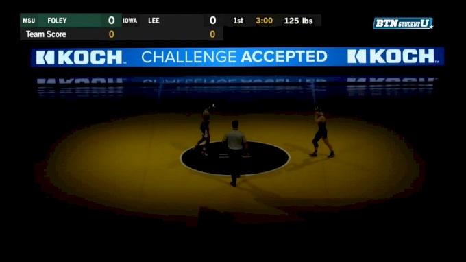125 lbs Spencer Lee, Iowa vs RayVon Foley, Michigan State