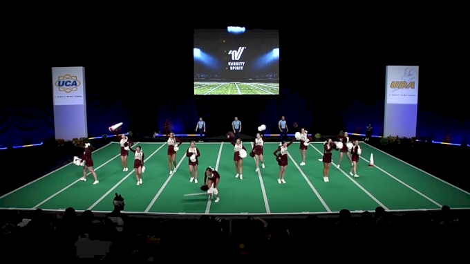 Concord University [2018 Open All Girl Game Day] UCA & UDA College Cheerleading and Dance Team National Championship