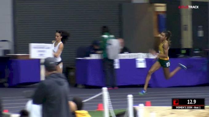 Women's 200m, Heat 1