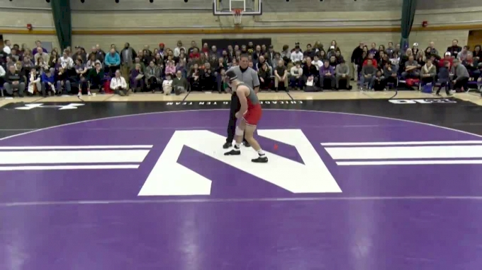 174 lbs, Joe Grello, Rutgers vs. #17 Johnny Sebastian, Northwestern