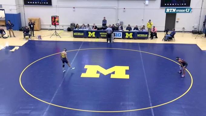 133 m, Stevan Micic, Michigan vs Jason Renteria, Nebraska