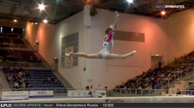 Vladislava Urazova Russia - Beam, Junior - 2018 City of Jesolo Trophy