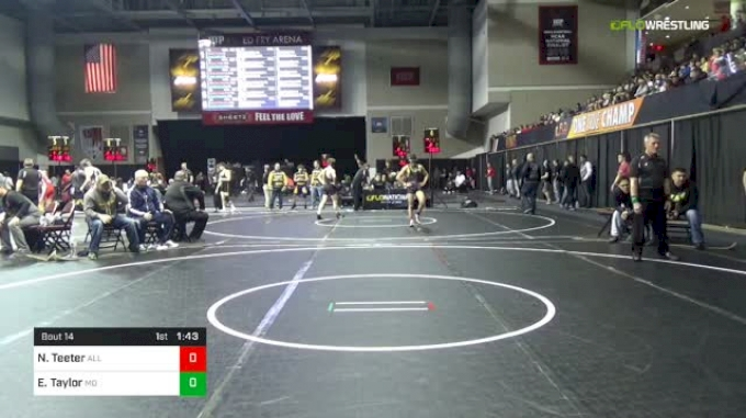 106 lbs Round Of 64 - Noah Teeter, All American Wrestling vs Evan Taylor, Mad Dawg Wrestling Club