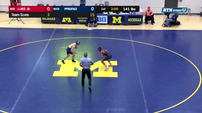 141 m, Chad Red, Nebraska vs Sal Profaci, Nebraska