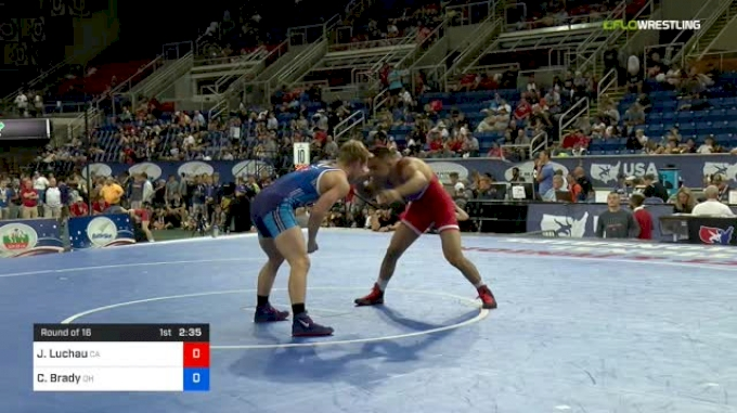 152 lbs Round Of 16 - Jace Luchau, California vs Connor Brady, Ohio