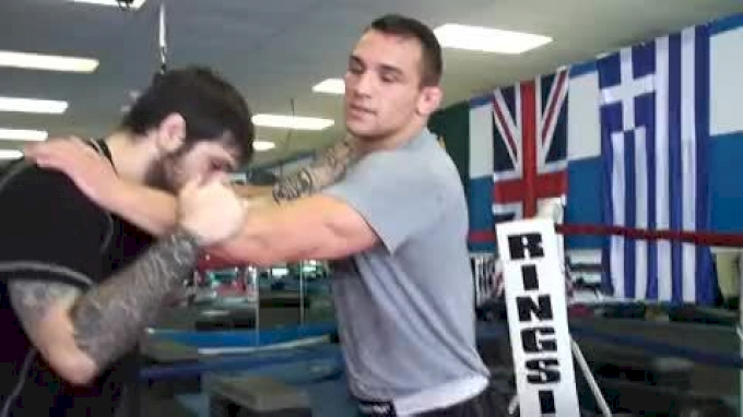 Finishing the Iranian When Opponent Pinches the Head