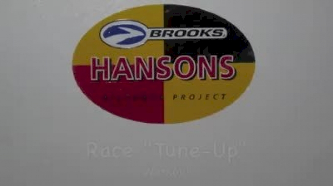 Hansons-Brooks 5k/10k workout