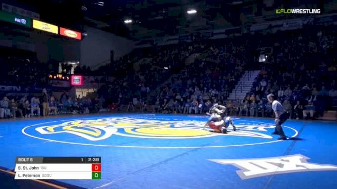 165 lbs Skyler St. John, ISU vs Logan Peterson, SDSU