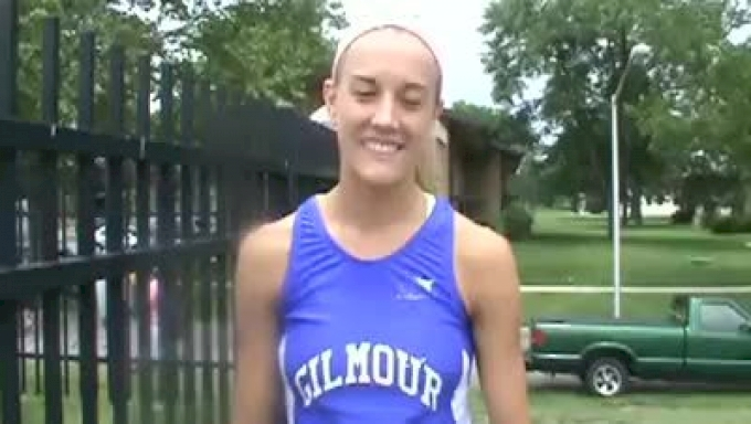 Bekka Simko Gilmour Academy division 3 800 meter Champ 10th state outdoor gold 2010 Ohio State meet