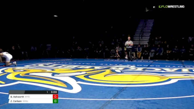 174 m, David Kocer, SDSU vs Kyle Pope, Wyoming